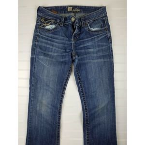 Kut From The Kloth dark wash Bootcut Jeans  4